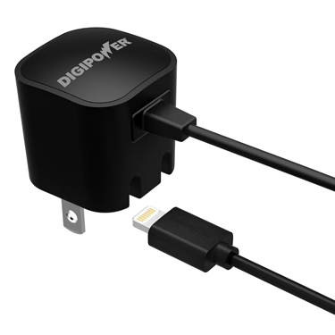 Digipower Wall Charger 1amp w/lightning Cable