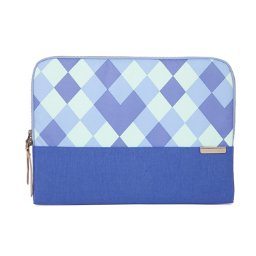 STM Laptop Sleeve Grace 15in Blue Diamonds