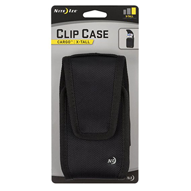 Nite Ize Universal Clip Case Rugged Cargo Extra Tall Black