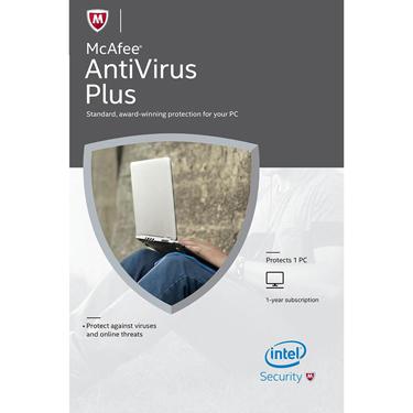 Mcafee Antivirus 1-User 1Yr