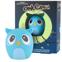 My Audio Pet Bluetooth Speaker Owl Blue - OwlCappela