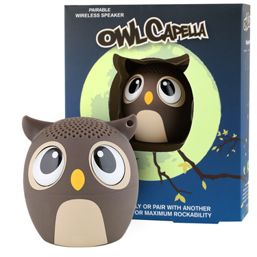 My Audio Pet Bluetooth Speaker Owl Brown - OwlCapella