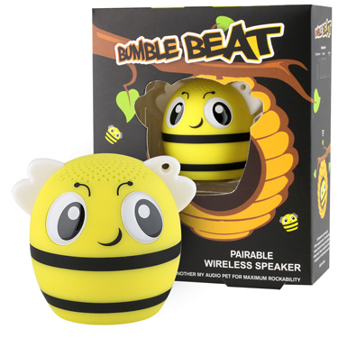 My Audio Pet Bluetooth Speaker Bee - Bumble Beat