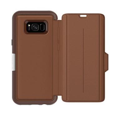 OtterBox Galaxy S8+ Strada Folio Brown/Brown Leather