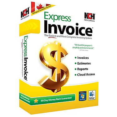 NCH Express Invoice Canadian Edition BIL