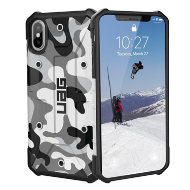 UAG iPhone X/XS Camo Pathfinder White