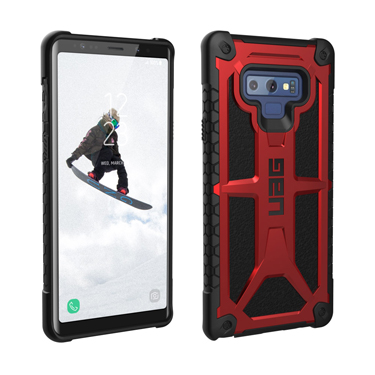 UAG Galaxy Note 9 Red/Black Crimson