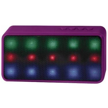 Lyrix Prysm Bluetooth LED 3W Speaker Purple
