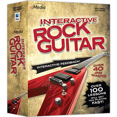 Emedia Interactive Rock Guitar BIL