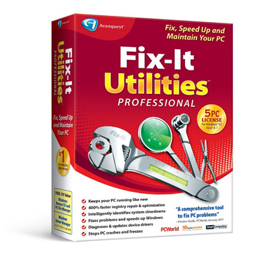 Avanquest Fix-It Utilities 12 Professional BIL