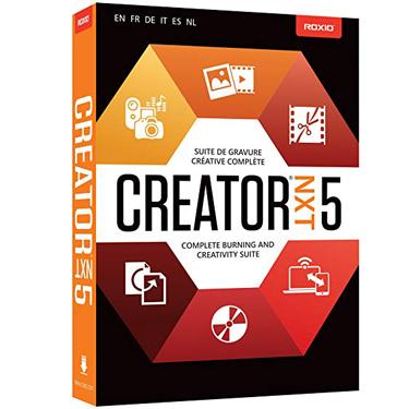 Roxio Creator NXT 5 Complete Burning & Creativty Suite