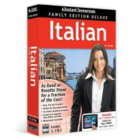 Instant Immersion Family Edition Italian 1-3 BIL