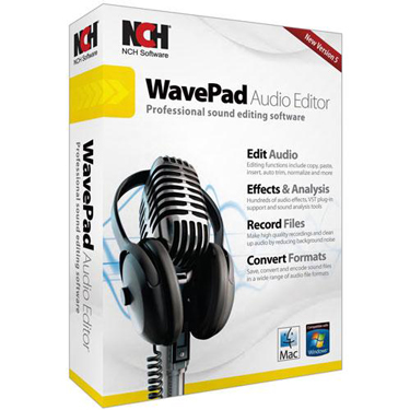 NCH WavePad 5 Audio Editing BIL