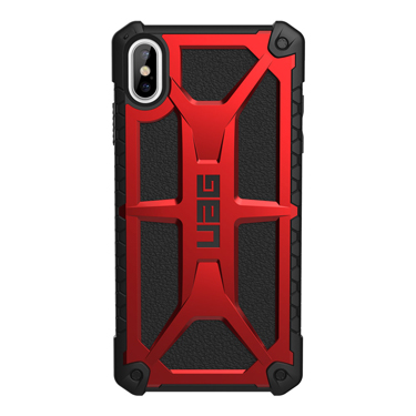 UAG iPhone XS Max Monarch Red/Black Crimson