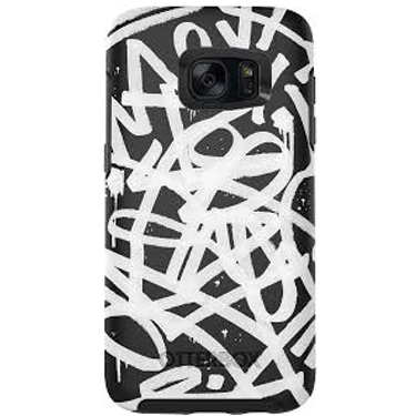 OtterBox Galaxy S7 Edge Symmetry Graphic Black/Black