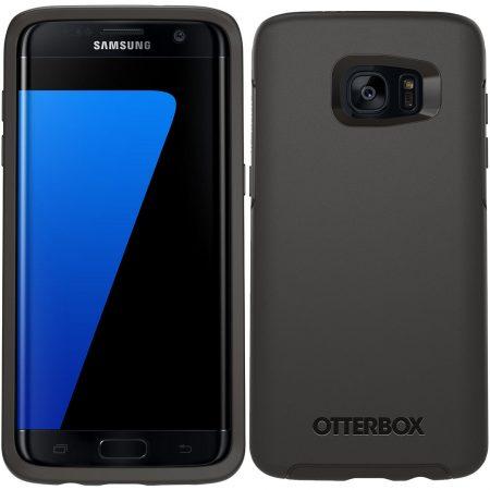OtterBox Galaxy S7 Edge MySymmetry Clear/Black Crystal