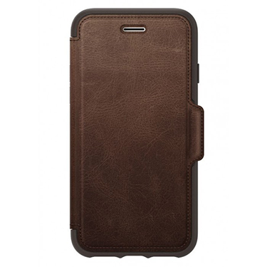 OtterBox iPhone X/XS Strada Folio Leather Brown Espresso