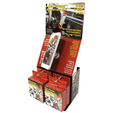 LPC Smartphone Mounting Kit Magnet 24-Pack w/Displayer
