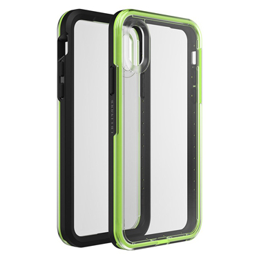 Lifeproof iPhone X/XS Slam Lime/Black Night Flash