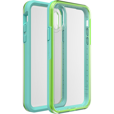 Lifeproof iPhone X/XS Slam Blue/Lime Sea Glass