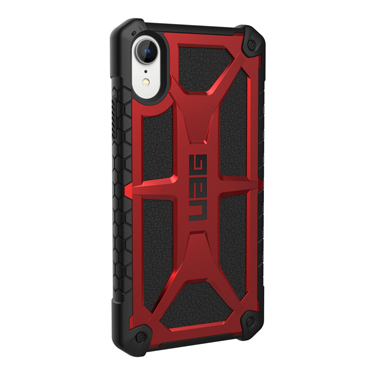 UAG iPhone XR Monarch Red/Black Crimson