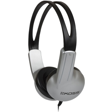 Koss Headphone ED1TC On Ear Plastic ear clip Education Sku