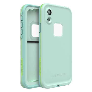 new arrival ea7c9 c7ab1 Lifeproof iPhone XR Fre Light Blue/Lime