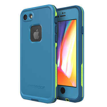 Lifeproof iPhone 7/8 Fre Light Blue/Pink Wipeout