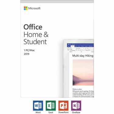 Microsoft Office 2019 Home & Student PC/Mac English