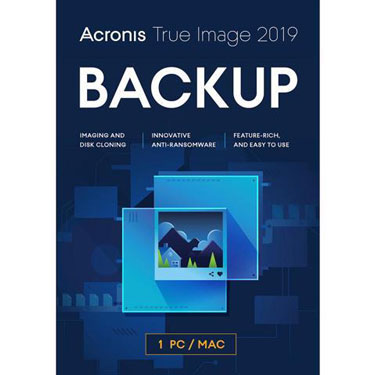 Acronis True Image 2019 Backup & Recovery 1-User BIL