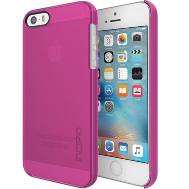 Incipio iPhone 5C Feather Clear Pink