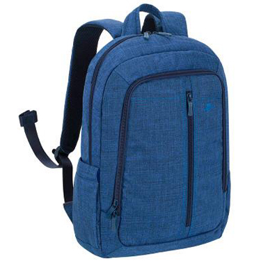 RivaCase Laptop Canvas Backpack 15.6in 7560 Blue