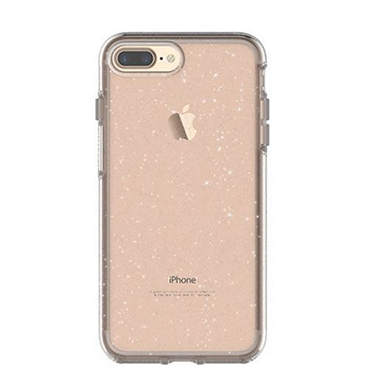 OtterBox iPhone 7+/8+ Symmetry Clear/Silver Flake Stardust