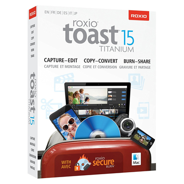 Roxio Toast 15 Titanium for Mac