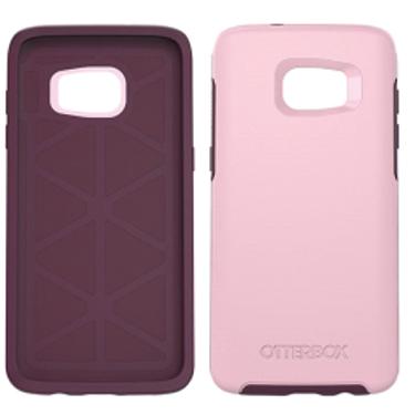 buy popular ce775 64ff4 OtterBox Galaxy S7 Edge Symmetry Pink/Purple Rose