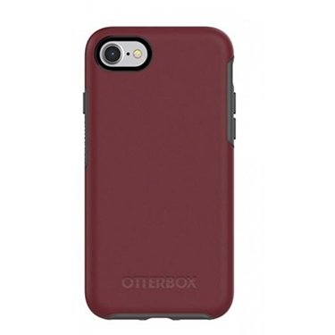 OtterBox iPhone 7/8 Symmetry Red/Grey Fine Port