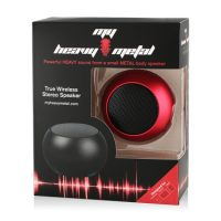 My Heavy Metal Bluetooth Spkr Solo Red - 1 Speaker