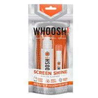 Whoosh! Duo Pouch 100mL & 8mL Screen Shine w/2 Cloths