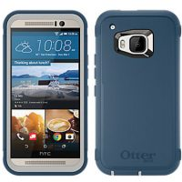 OtterBox HTC One M9 Defender Grey Blue Casual Blue