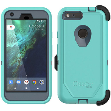 the latest 82610 59f09 OtterBox Google Pixel XL Defender Borealis Blue/Aqua