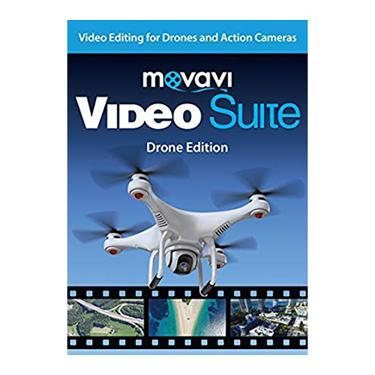 Movavi Video Suite Drone Edition Video Editing BIL