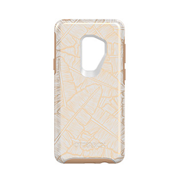 OtterBox Galaxy S9+ Symmetry White/Brown Throwing Shade