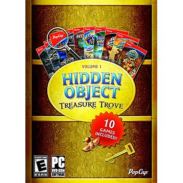 Popcap Hidden Object Treasure Trove Vol 1 w/10 Games