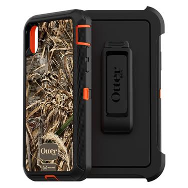 OtterBox iPhone X/XS Defender Orange/Black Realtree Camo M5