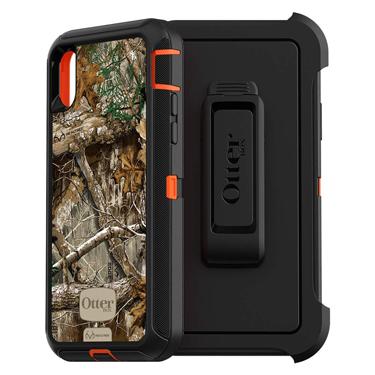 OtterBox iPhone X/XS Defender Orange/Black Camo Edge