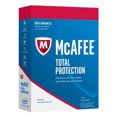 Mcafee Total Protection  5-Device 1Yr