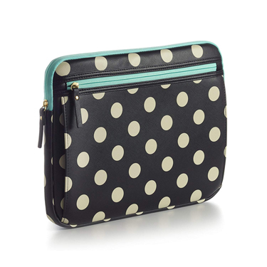 Studio C Laptop Sleeve 13-14in Hot to Trot Black/Ivory/Mint