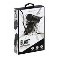 iEssentials Earbud Blast w/Mic Black