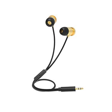 iEssentials Earbud Blast w/Mic Gold