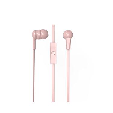 iEssentials Earbud Splash w/Mic Pink